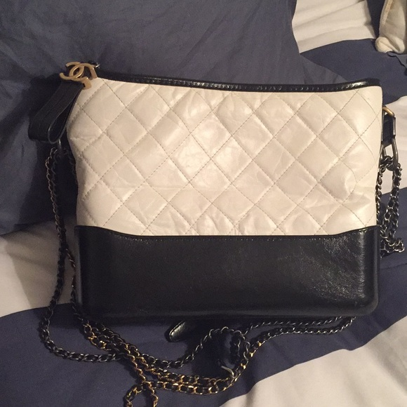 e6ae285f41 CHANEL Bags | Gabrielle Medium Black And White | Poshmark